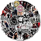Set Fantasy TV Series The Vampire Diaries Graffiti Pegatinas para DIY Toy Scrapbook Skateboard Snowboard Laptop Equipaje 50 Uds