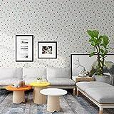 LZYMLG Papel pintado impermeable nórdico autoadhesivo dormitorio femenino fondo decorativo pegatinas de pared renovación de escritorio película de bricolaje Cereza
