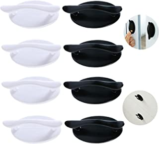 8 Stuks Zelfklevende Pull Handgrepen Stick-on Handvatten Sticky Deur Handvat Zelfklevende Kabinet Handvat Zelfklevende Lad...