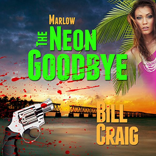 Marlow: The Neon Goodbye  audiobook cover art