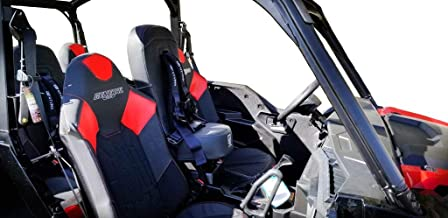 Bump Seat with 2 Purple 4 Point Safety Harness 5048A5 CB 6008P1 Mounting Hardware Included Fits Polaris RZR Models