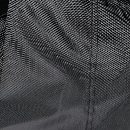 HOGAR AMO Funda para Cortacésped del Poliéster 210D Resistente Protector Impermeable 76 * 25 * 57 * 44 Pulgadas Todo el Timpo Protección al Aire Libre/Resistente al Interior Sin Recubrimiento