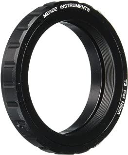 Meade Instruments 07378 Nikon T-Mount SLR Camera Adapter (Black)