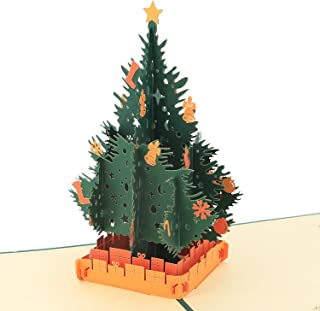 3D Christmas Cards - Pop Up Cards - Greeting Holiday Card, Gifts for Xmas/New Year by AITpop