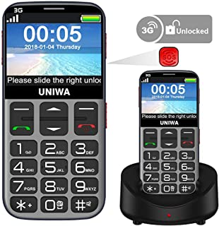 Mosthink Unlocked Cell Phones for Elderly, Unlocked Senior Cell Phone, Easy To Use SOS Basic Phone with Big Buttons and Hi...
