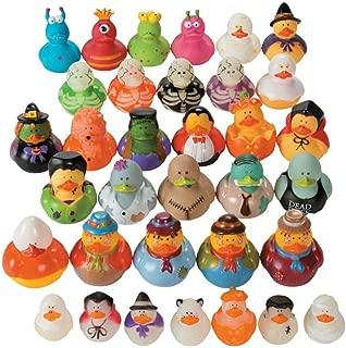 Halloween Rubber Duckie Assortment (50 ducks) Bulk Party Supplies