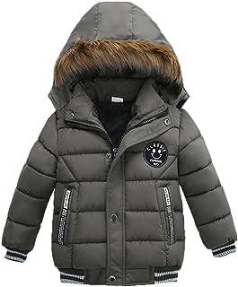 00ca2ab9f K-youth® Ropa Niño Invierno Sudadera con capucha Abrigo De Algodón  Engrosamiento Chaqueta
