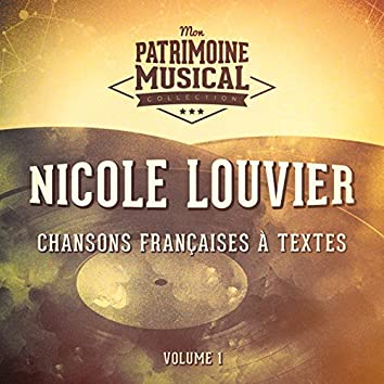 Chansons françaises à textes : Nicole Louvier, Vol. 1