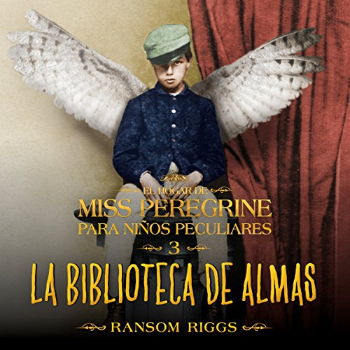 La biblioteca de almas audiobook cover art