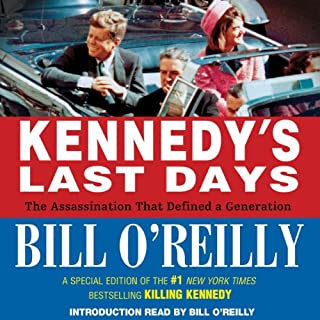Kennedy's Last Days audiobook cover art