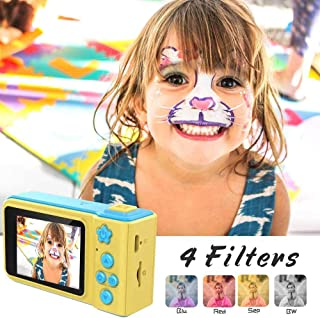 Swizz Fashion Mini Summer Vacation Camera 2.0 Inch Screen HD 1080P Video Recorder Camcorder with Loop Recording Children Toy