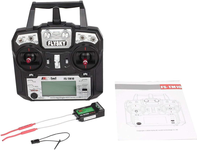 oferta de tienda Flysky FS-TM10 FS-i6X 10CH 2.4GHz AFHDS RC RC RC Transmisor con Receptor FS-IA10B fghfhfgjdfj  ahorra hasta un 30-50% de descuento