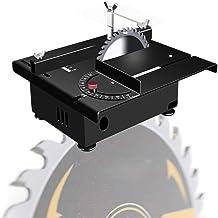 dami Portátil Sierra De Mesa,Mini Eléctrico Sierra De Banco 100W con Eje Flexible,Velocidad Variable 0-10000 RPM,Corte En Ángulo De 0-90 ° para Bricolaje Herramientas