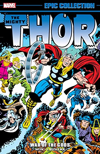 Thor Epic Collection: War of the Gods