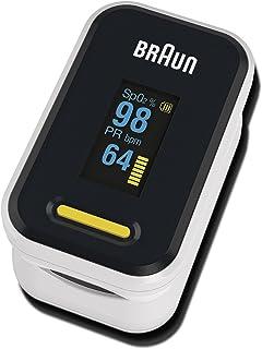 Braun Saturatiemeter 1 (zuurstofsaturatie, bloedzuurstofniveaus, klinisch nauwkeurig, gecertificeerd medisch apparaat) YK-...