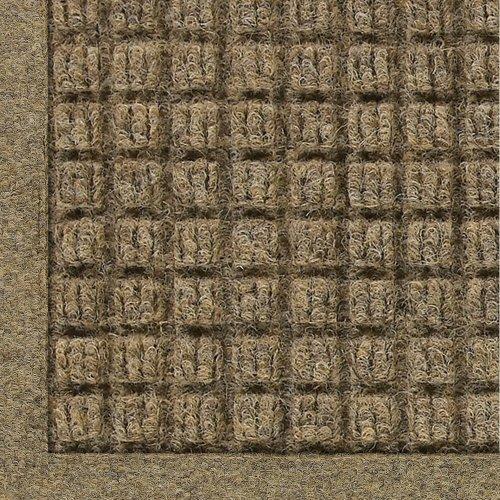 M+A Matting - 280500023 WaterHog Fashion Commercial-Grade Entrance Mat, Indoor/Outdoor Charcoal Floor Mat 3' Length x 2' Width, Camel by