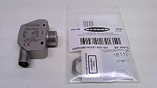 Banner Q4xblaf300-Q8, Laser Sensor, Npn and Pnp Output, Range25mm Q4xblaf300-Q8