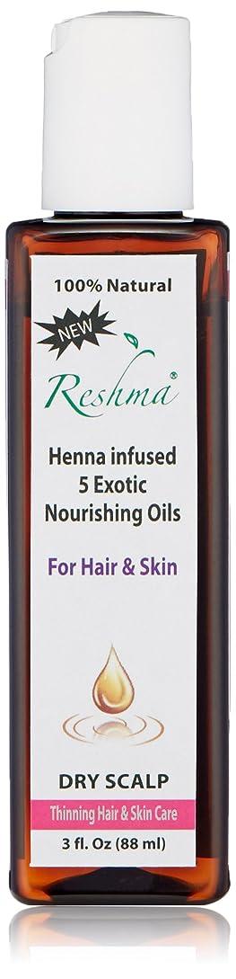 激怒そしてホストReshma Beauty ヘナ注入された薄毛のためのオイル