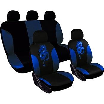 Schwarz-blau Effekt 3D Sitzbezüge für CHEVROLET CRUZE  Autositzbezug Komplett