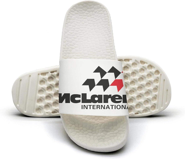 EIGKASL Printed Non-Slip Slipper Slides flip Flop Sandals McLaren-Logo-Symbol-embelm-Summer Stylish for Womens