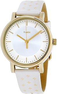 Timex Main Street Quartz Movement Silver Dial Ladies Watch TW2R11700