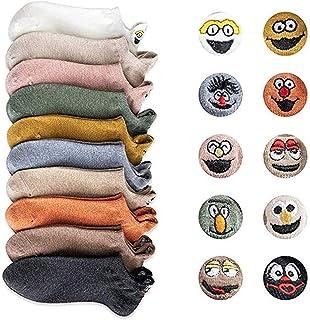 Yidarton, Calcetines de algodón para mujer, diseño de dibujos animados