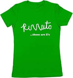 Rizzuto Those are Z's Women's Jr Fit T-Shirt