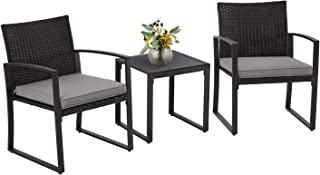 Skiway 3-Pieces Outdoor Patio Set All Weather Manual...