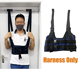 Back Stretcher Device Decompression Back Belt Lumbar Traction Spinal Decompression Devices Therapy Machine Back Pain Relief Chest Harness Alignment Device (M- Harness Only)