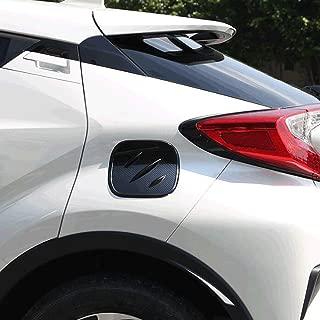 ABS Carbon fiber Color Car Fuel Oil Tank Gas Cap Cover For Toyota C-HR CHR 2016 2017 2018