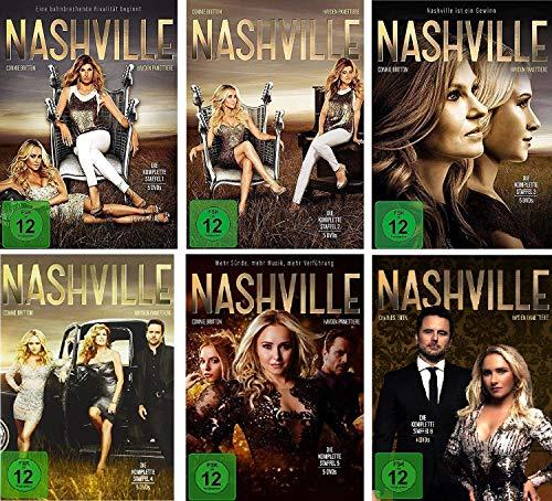 Nashville - Staffel 1-6 im Set - Deutsche Originalware [29 DVDs]