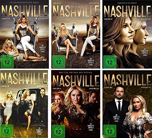Nashville - Staffel 1-6 im Set - Deutsche Originalware [29 DVDs]
