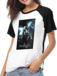 Womens Short Sleeve Raglan Baseball T-Shirts The Twilight Saga