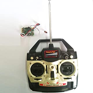 NiGHT LiONS TECH Receiver Board and Remote Control Set Spare Parts for Double Horse DH9050 9053 9101 rc Helicopter