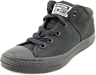 5ed179611b56 Converse Chuck Taylor All Star Axel Mid (Little Big Kid) Silver Charcoal