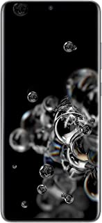 Samsung Galaxy S20 Ultra 5G Factory Unlocked New Android Cell Phone US Version, 128GB of Storage, Fingerprint ID and Facia...