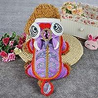 犬は服を着る犬の服中国の古典的なペットは4本足の冬服を回す