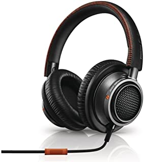 Philips Fidelio L2 Audio Headphones with Accept Incoming Call Function and Microphone for Mobile Phone Black/Orange