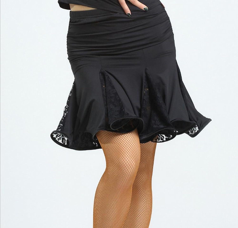 OOFAY Adult female lace Latin dance skirt