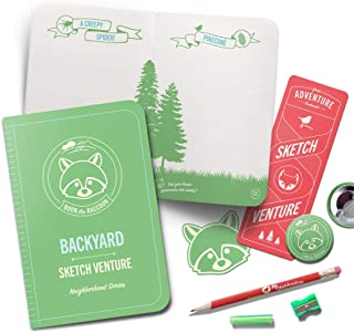 Kids Drawing Sketchbook - Backyard Adventure Book Guides Children Outdoors to Journal Nature, Bugs, Animals, Trees and Lea...