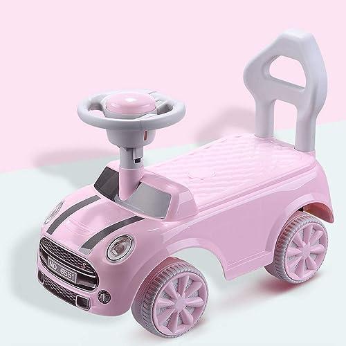 Kinder drehen Auto Sicherheit Anti-reverse Komfortable Massage Sitz Twist Auto Anti-skid Nicht Einfach, Balance Auto Zu Brechen (55  25  39,5 cm) (Farbe   Rosa)