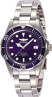 Invicta 9204 Watch Men's Pro Diver Collection Silver-Tone
