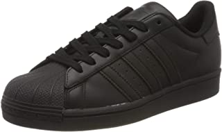 adidas Originals Superstar, Scarpe da Ginnastica Uomo, Nero (Core Black/Core Black/Core Black), 43 1/3 EU