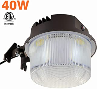 Shine Tech LED Security Area Light 40 Watts – Barn Light Dusk to Dawn with..