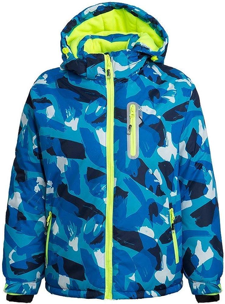 FARVALUE Boy's Waterproof Max specialty shop 81% OFF Winter Coat Mountain J Ski Snow Fleece