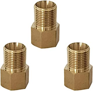 Lomodo 3 Pack Pressure Washer Adapter Pressure Washer Couplers Metric M22 14mm Female to M22 15mm Male Fitting 4500 PSI