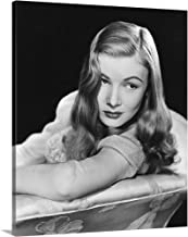 Solid-Faced Canvas Print Wall Art Print Entitled I Married A Witch, Veronica Lake 20