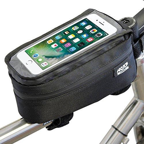 NC-17  Fahrrad Tasche Oberrohr Rahmentasche, schwarz, XL, 4080