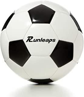 Runleaps Traditional Soccer Ball, Size 3/4/5 Soccer...