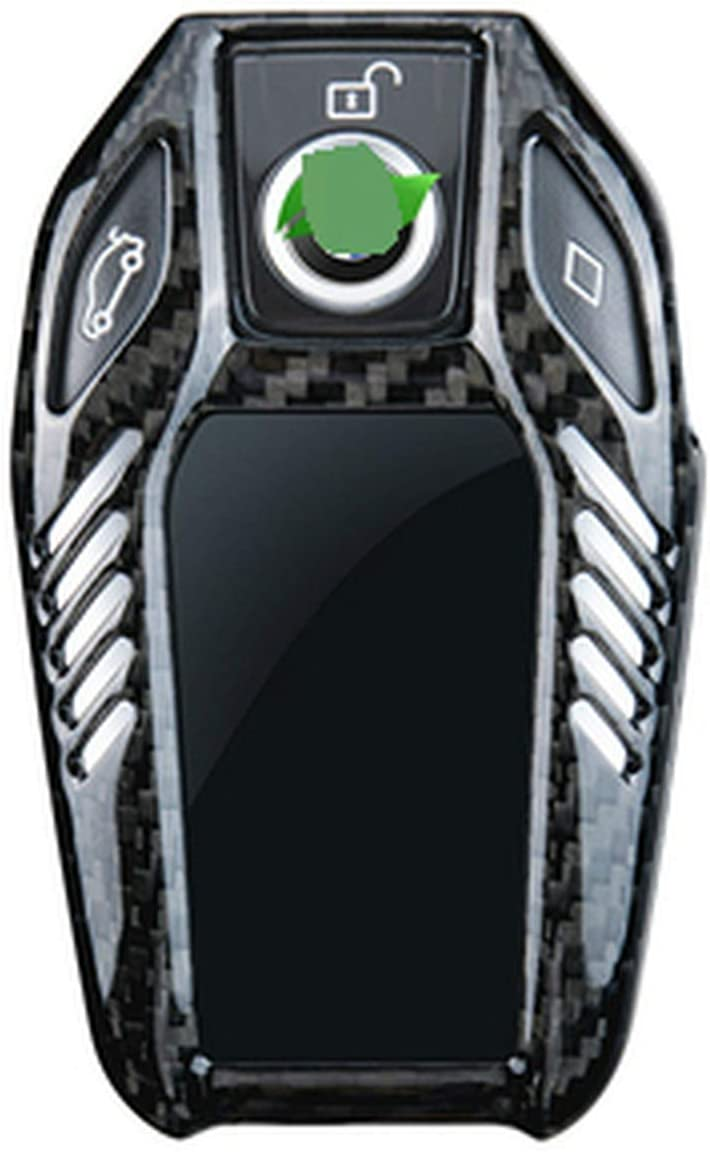 Tcarbon Glass Carbon Fiber Car Key BMW for Shell Some reservation Case Cover Max 86% OFF